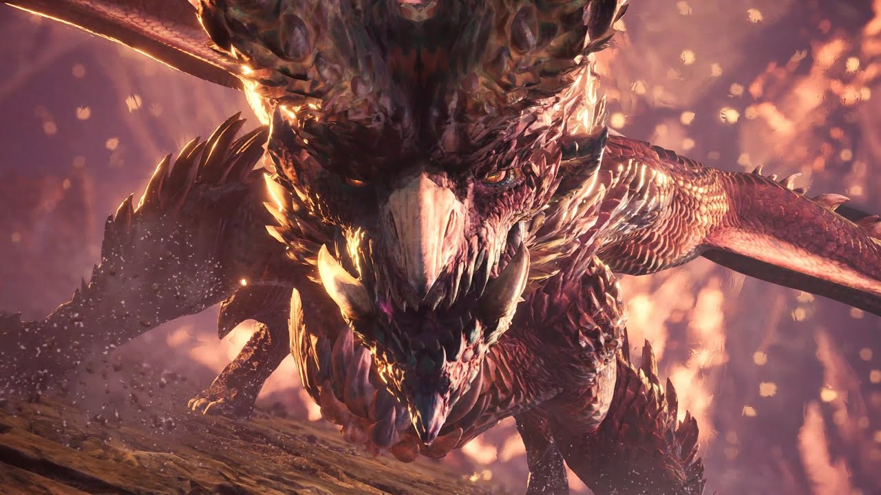 monster hunter world alatreon
