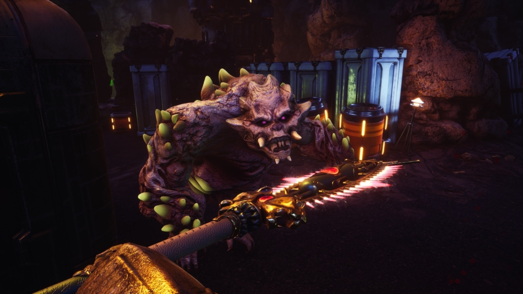 the outer worlds peril on gorgon rock monster