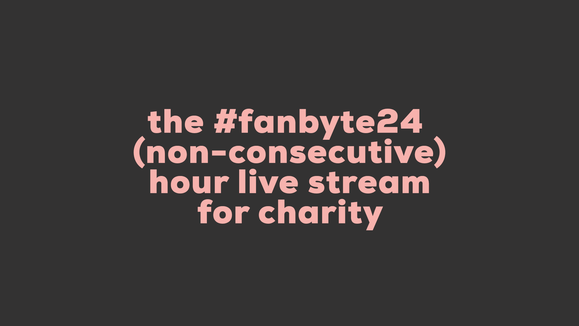 Photo of We're Doing a 24 Hour Livestream for Charity!
