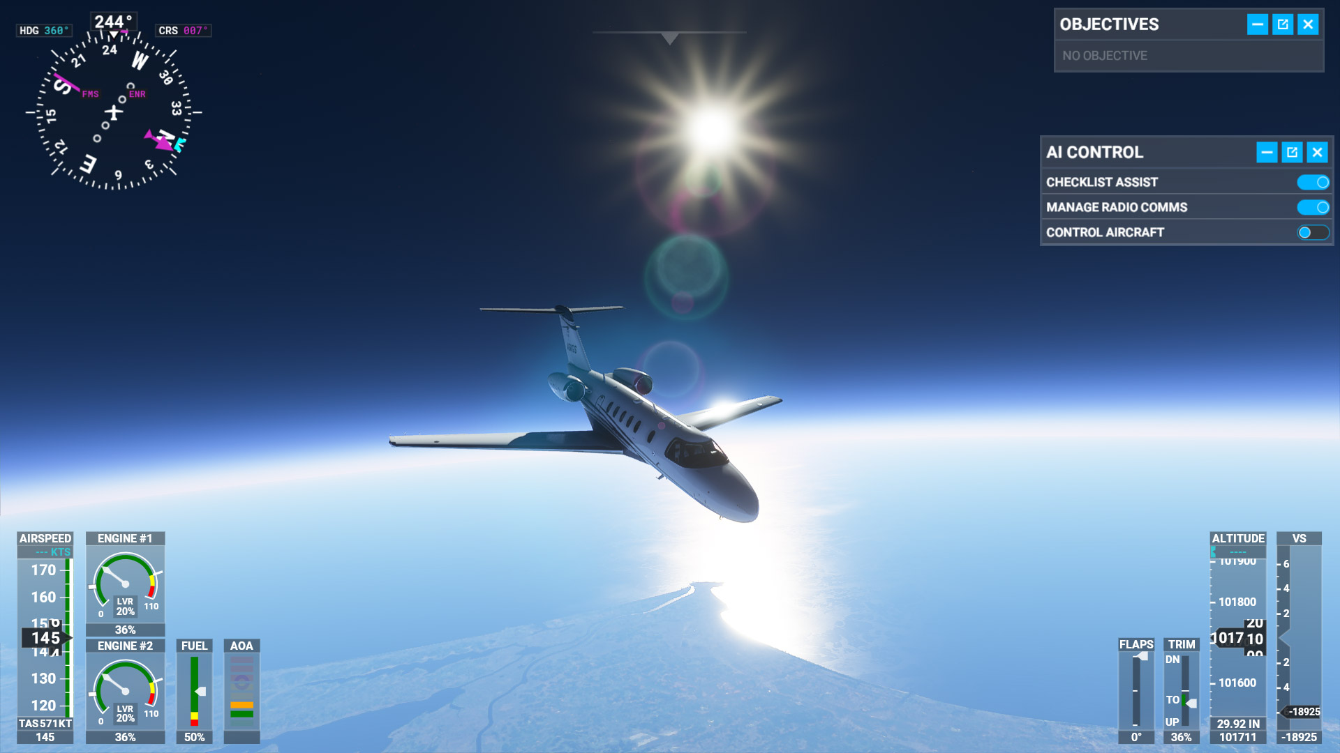 Photo of How to Achieve Low Space Flight in Microsoft Flight Simulator 2020