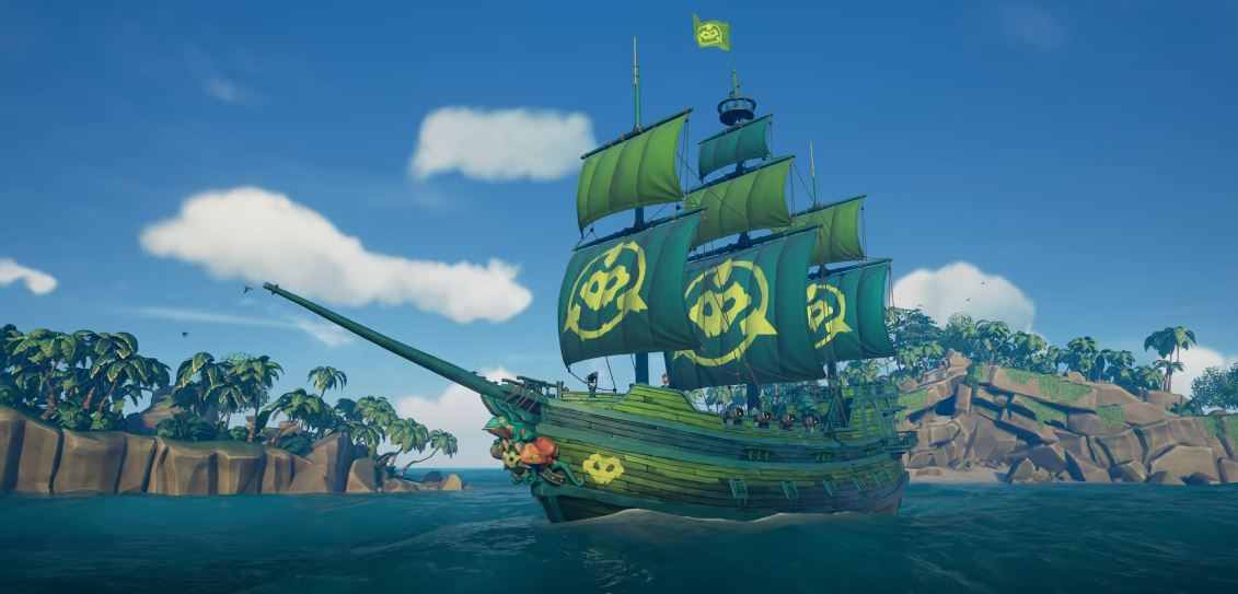 Sea of Thieves Battletoads Ship