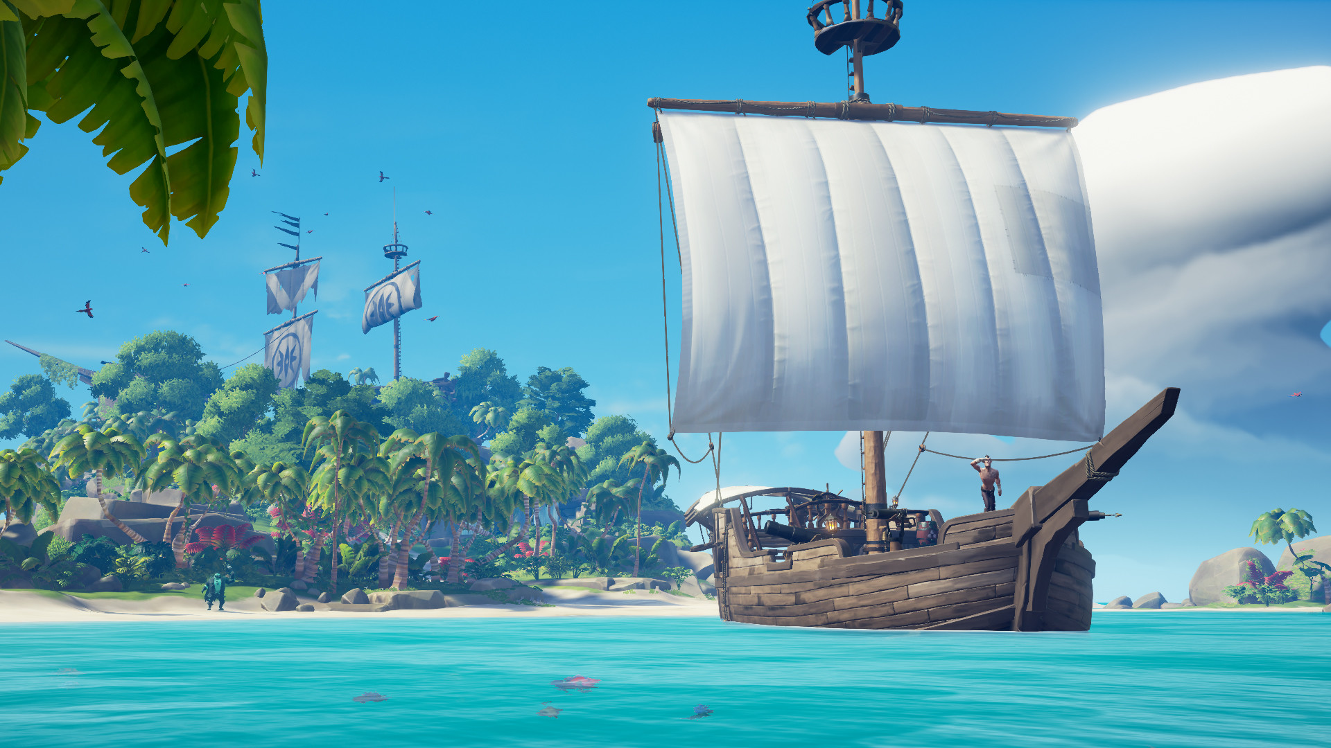 Sea of Thieves Shrouded Ghost Ship Cosmetics