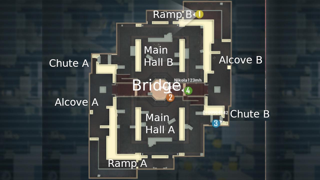 Gun Game library map