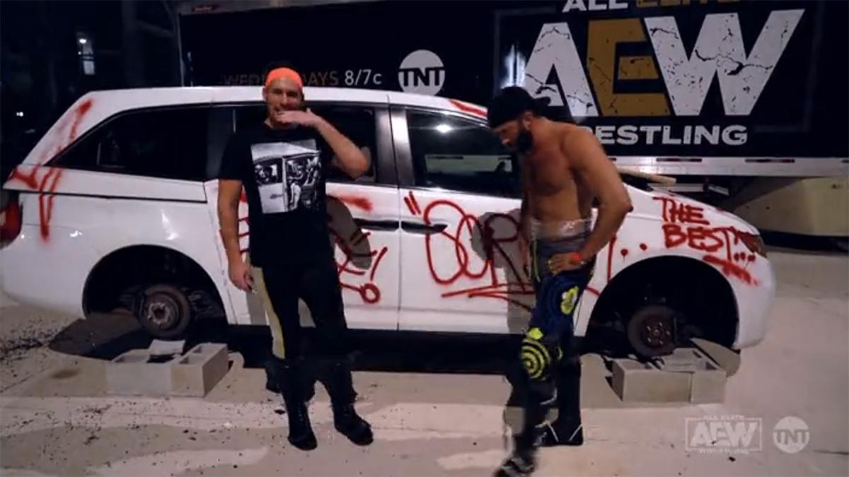 Photo of In Loving Memory of Sue's White Minivan: AEW Dynamite Recap (08/05/2020)