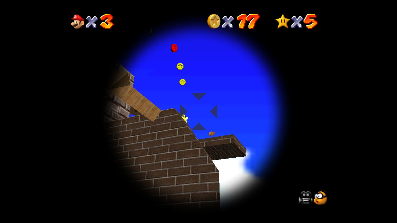 Mario 64 Blast Away the Wall