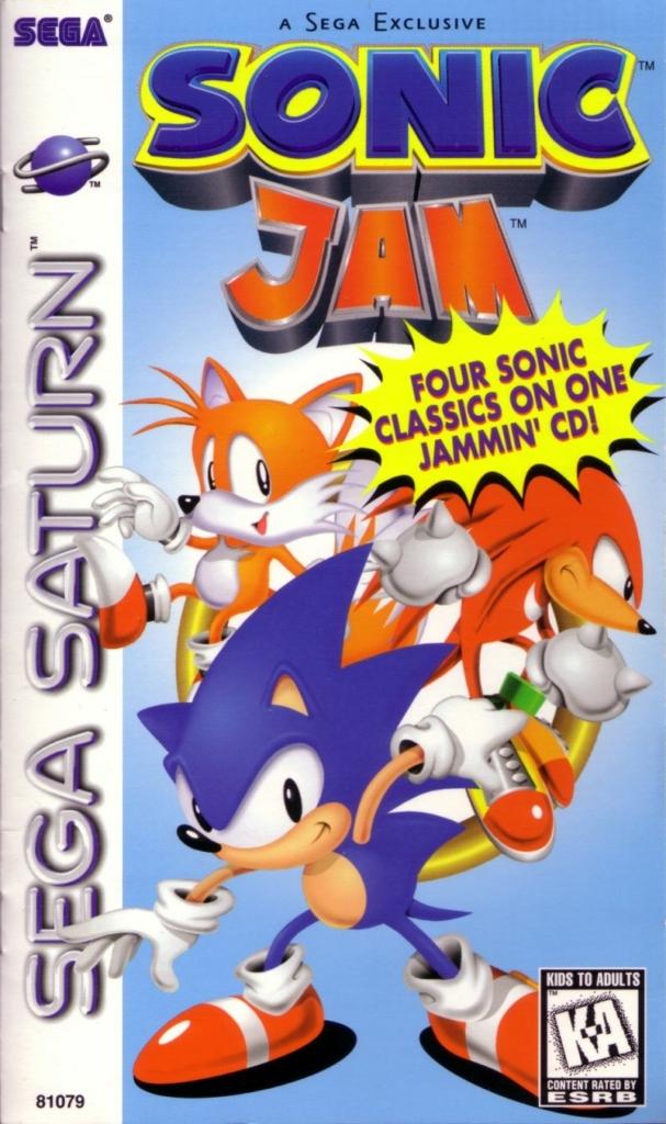 Saturn Sonic Jam