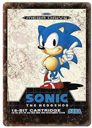 Sonic The Hedgehog Mega Drive Re-release