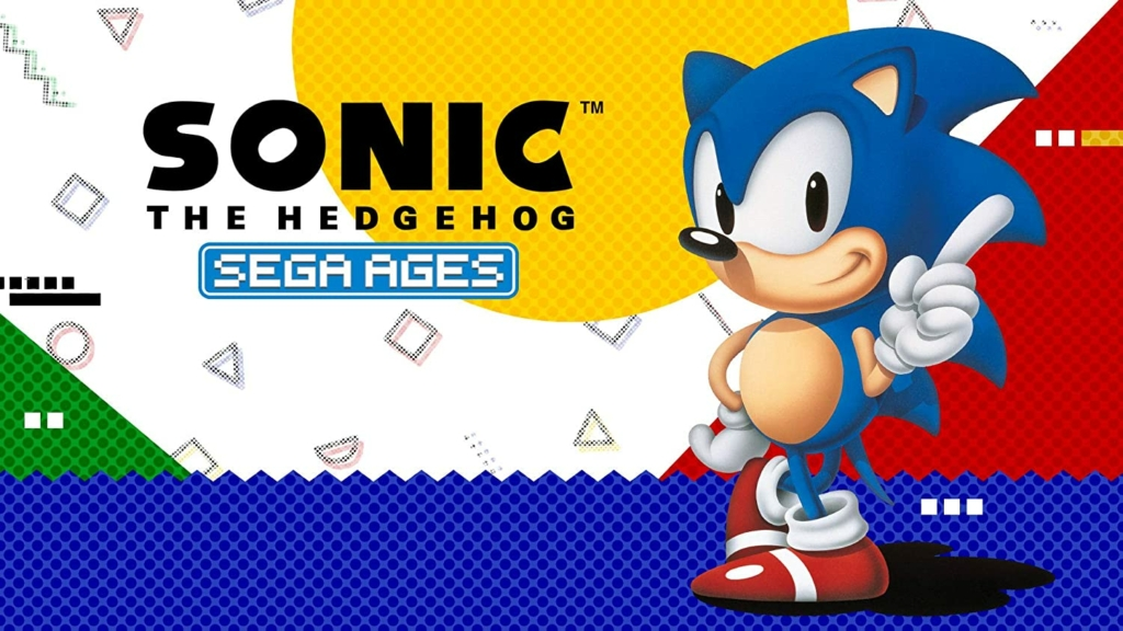 Sega The Ages Sonic The Hedgehog