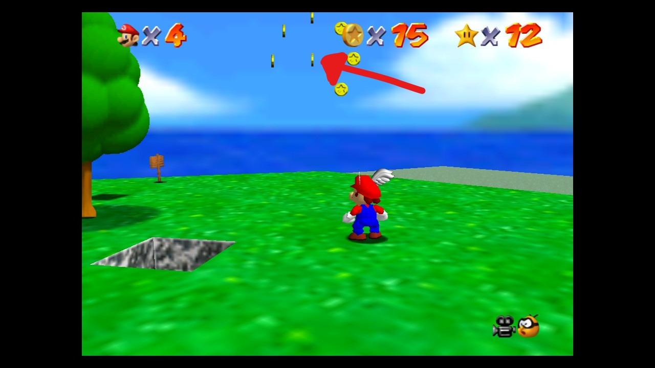 Super Mario 64 Wings to the Sky