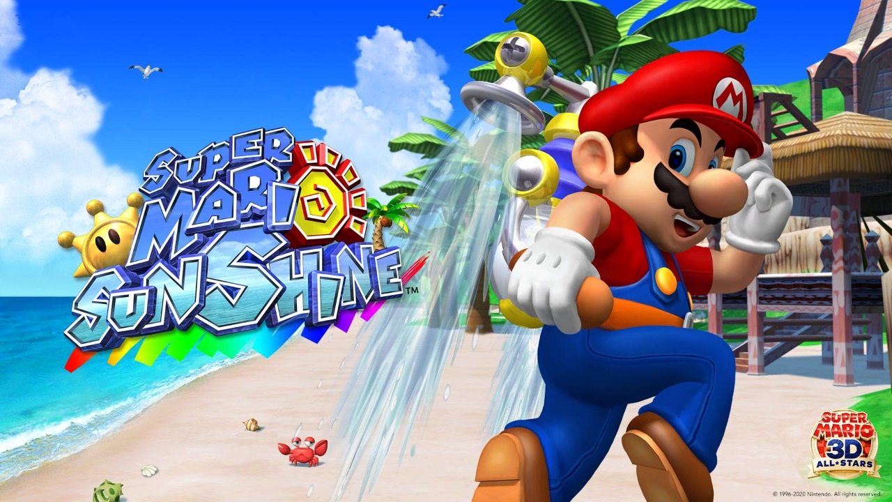 Super Mario Sunshine Bianco Hills Shines