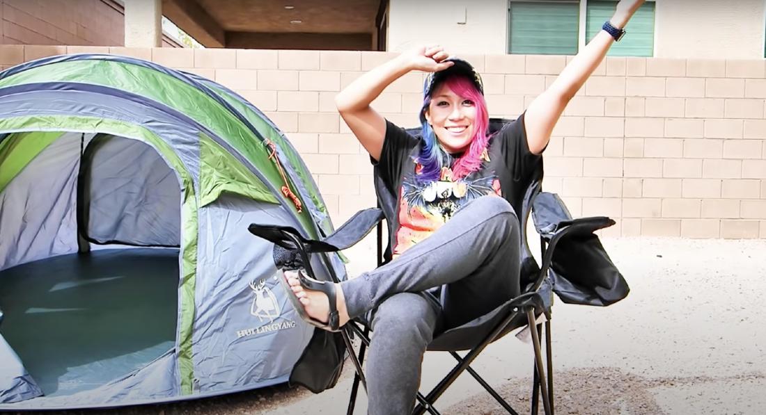 Photo of Happy First Birthday to KanaChanTV's Camping Alone Happy my birthday!