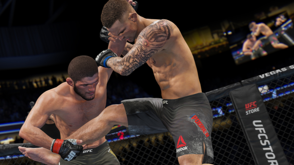 Photo of EA Disables In-Game Advertisements From UFC 4 After Backlash