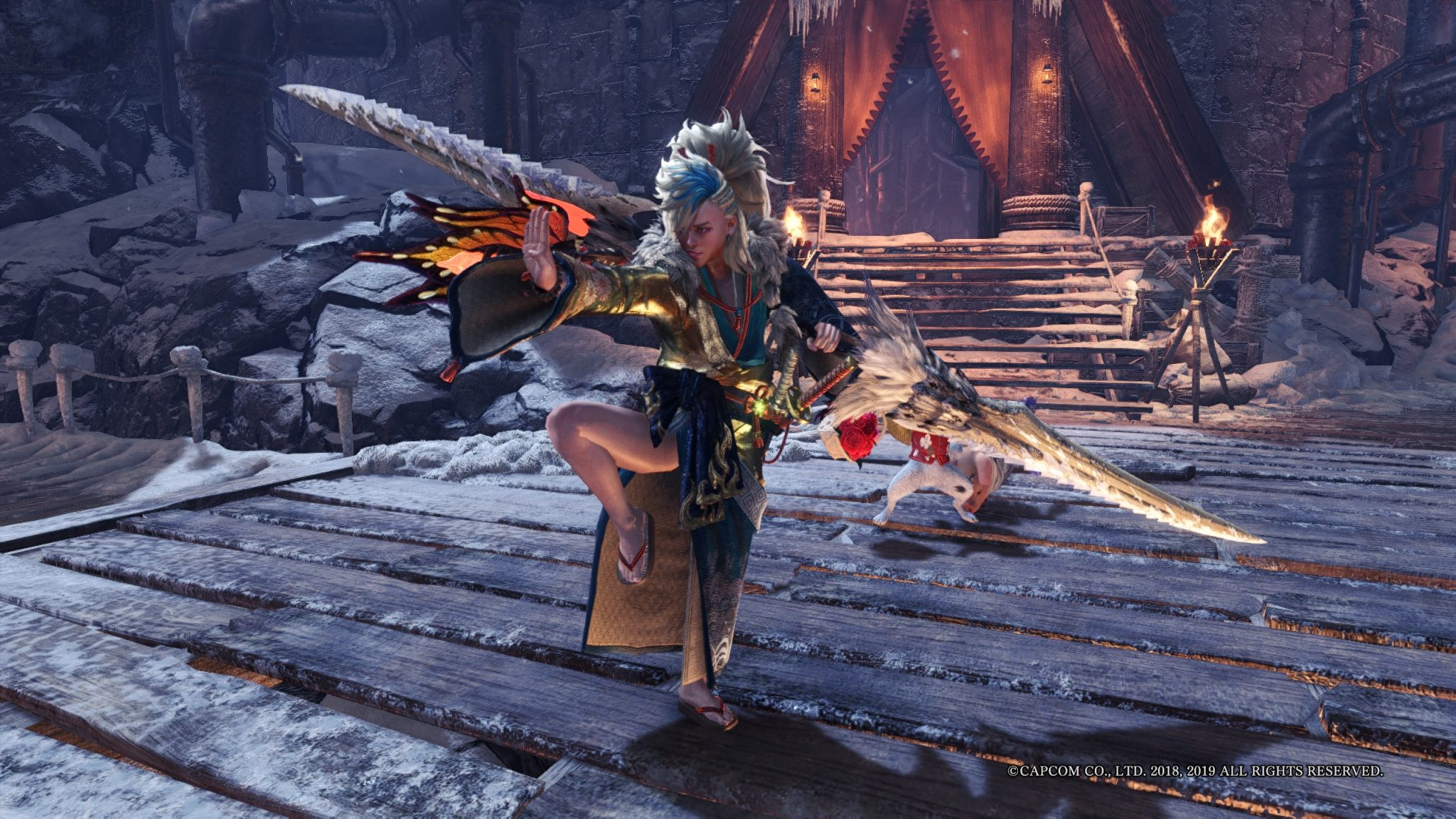 Photo of MHW USJ: Ballet of Frost Event Guide – Large Azure Era Gem & Armor