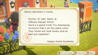 Photo of Getting an S-Rank from the Happy Home Academy in Animal Crossing: A Review