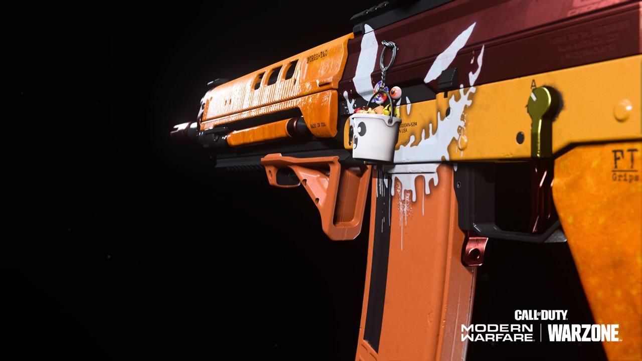 COD Warzone Pumpkin Punisher Bug