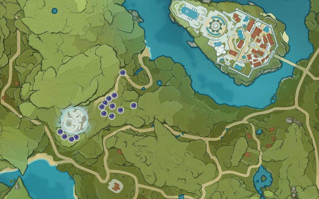 Genshin Impact Wolfhook Location