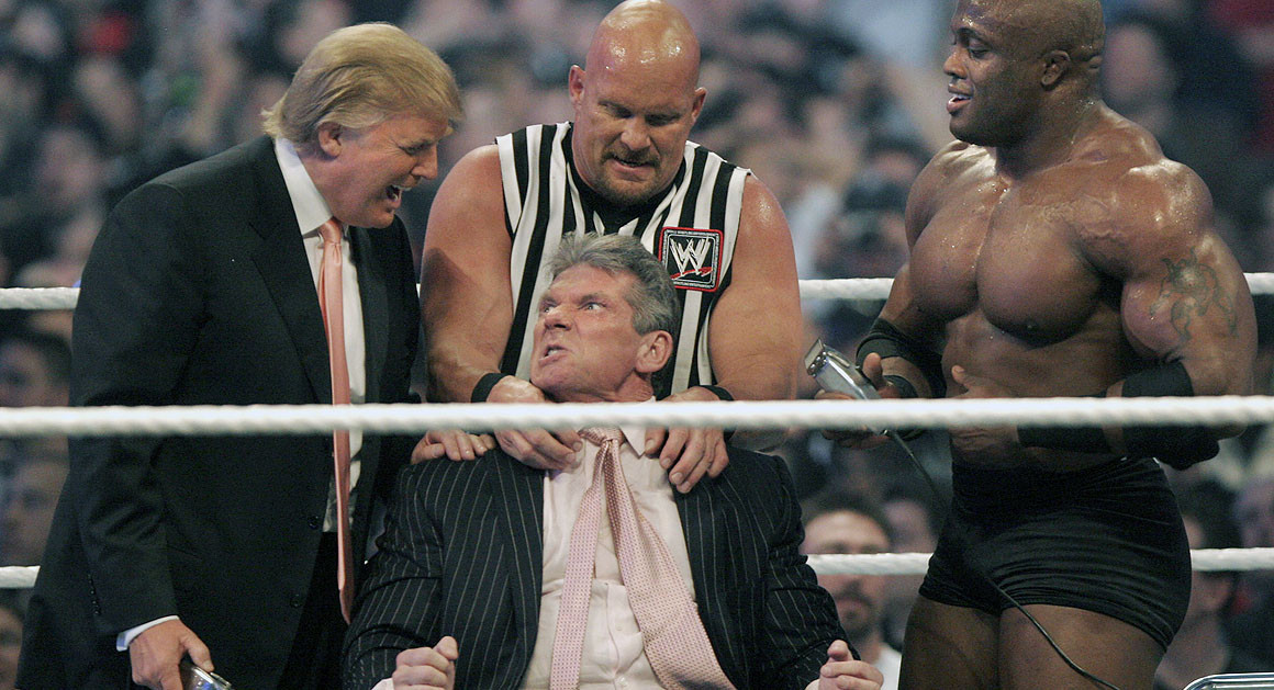 Photo of Donald Trump, WWE's President
