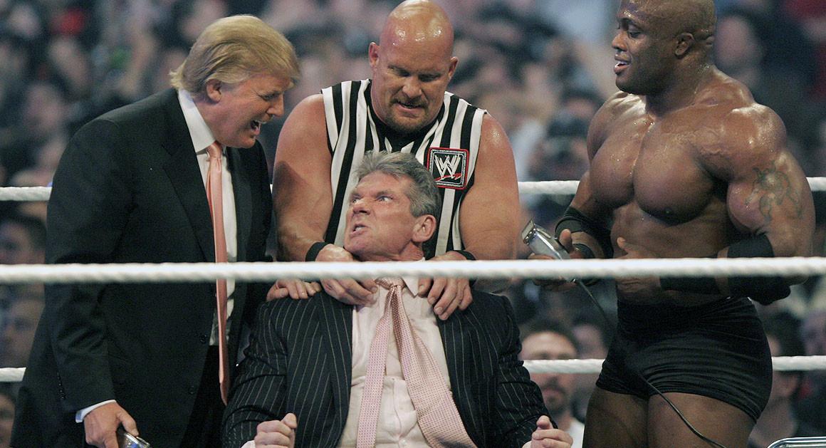 Photo of Donald Trump, WWE's President
