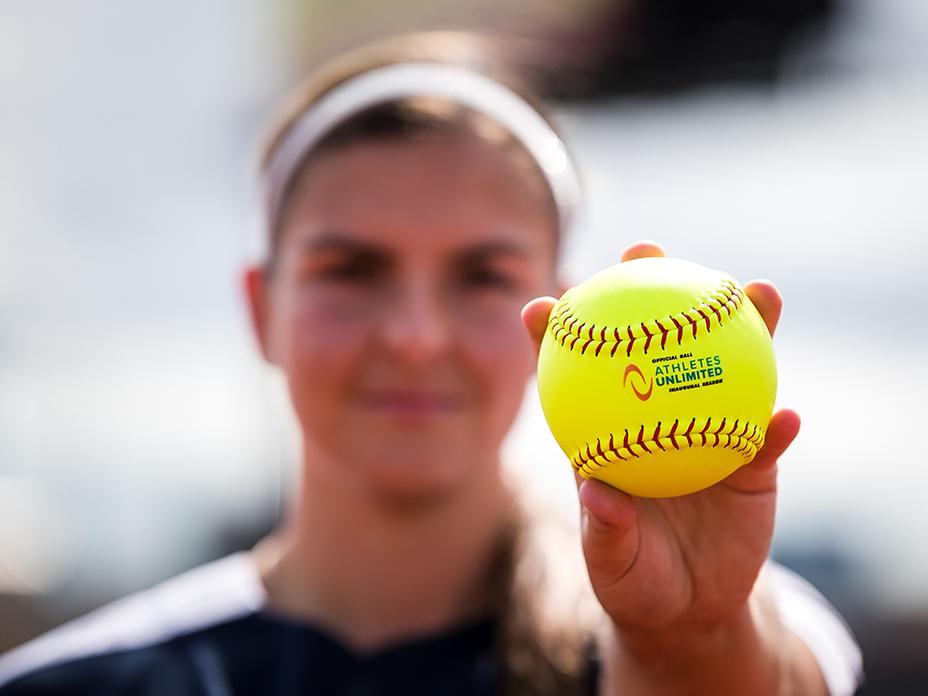athletes unlimited softball pitch