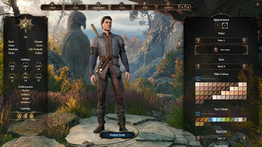 baldur's gate 3 character creator