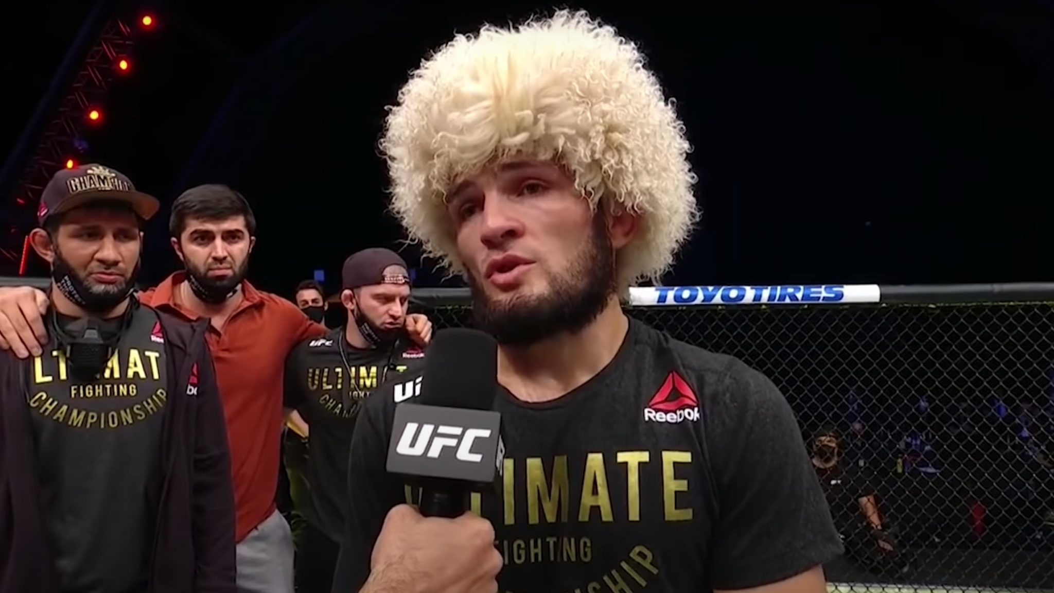 khabib retirement announcement