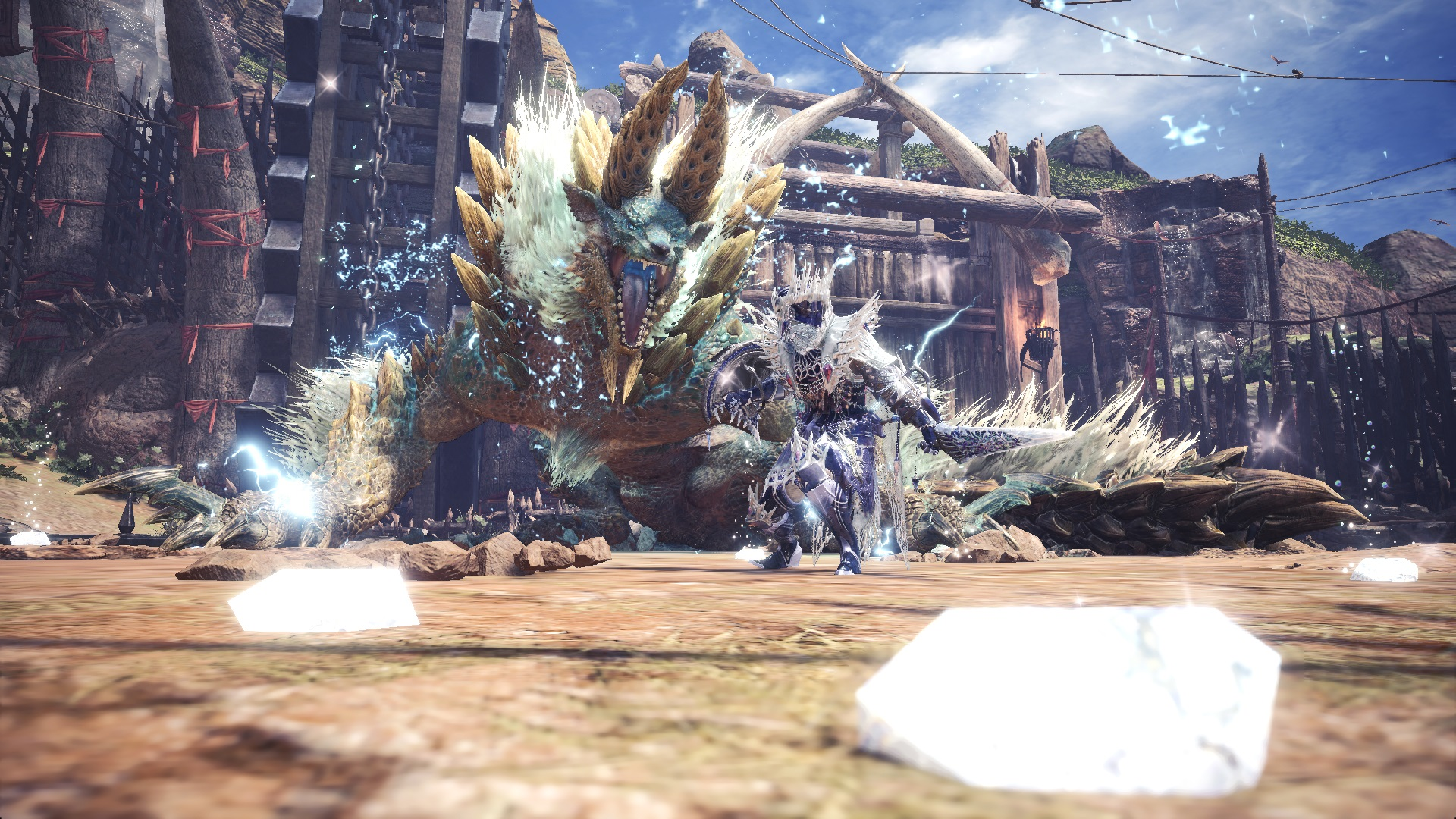 mhw farewall to zinogre