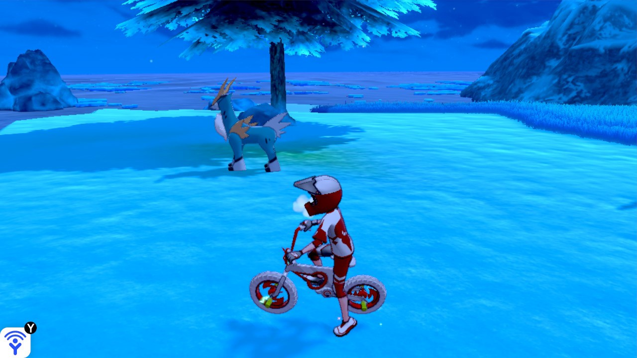 Crown Tundra Cobalion footsteps location