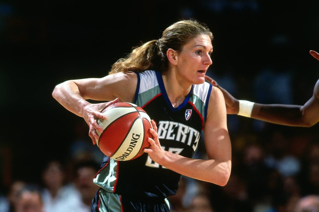 sue wicks playing for liberty