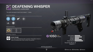 Photo of Destiny 2 Deafening Whisper Guide – Deafening Whisper God Roll & How to Get It