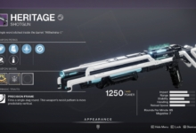 Photo of Destiny 2 Heritage Guide – Heritage God Roll & How to Get It