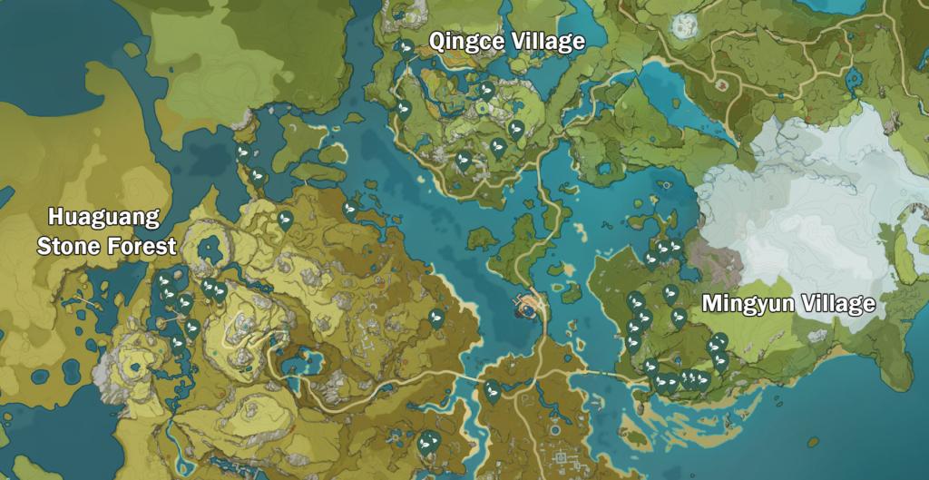 Genshin Impact Violetgrass Guide - Violetgrass Location & Uses