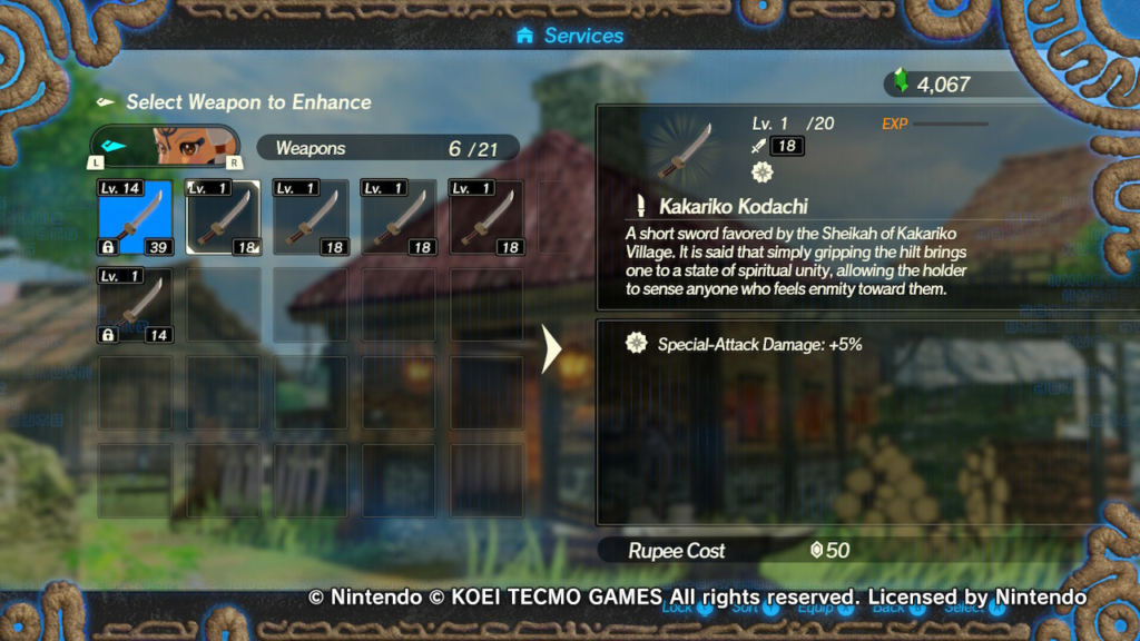 Hyrule Warriors Age Of Calamity Blacksmithing Guide Weapon Fusion Rusty Weapons More
