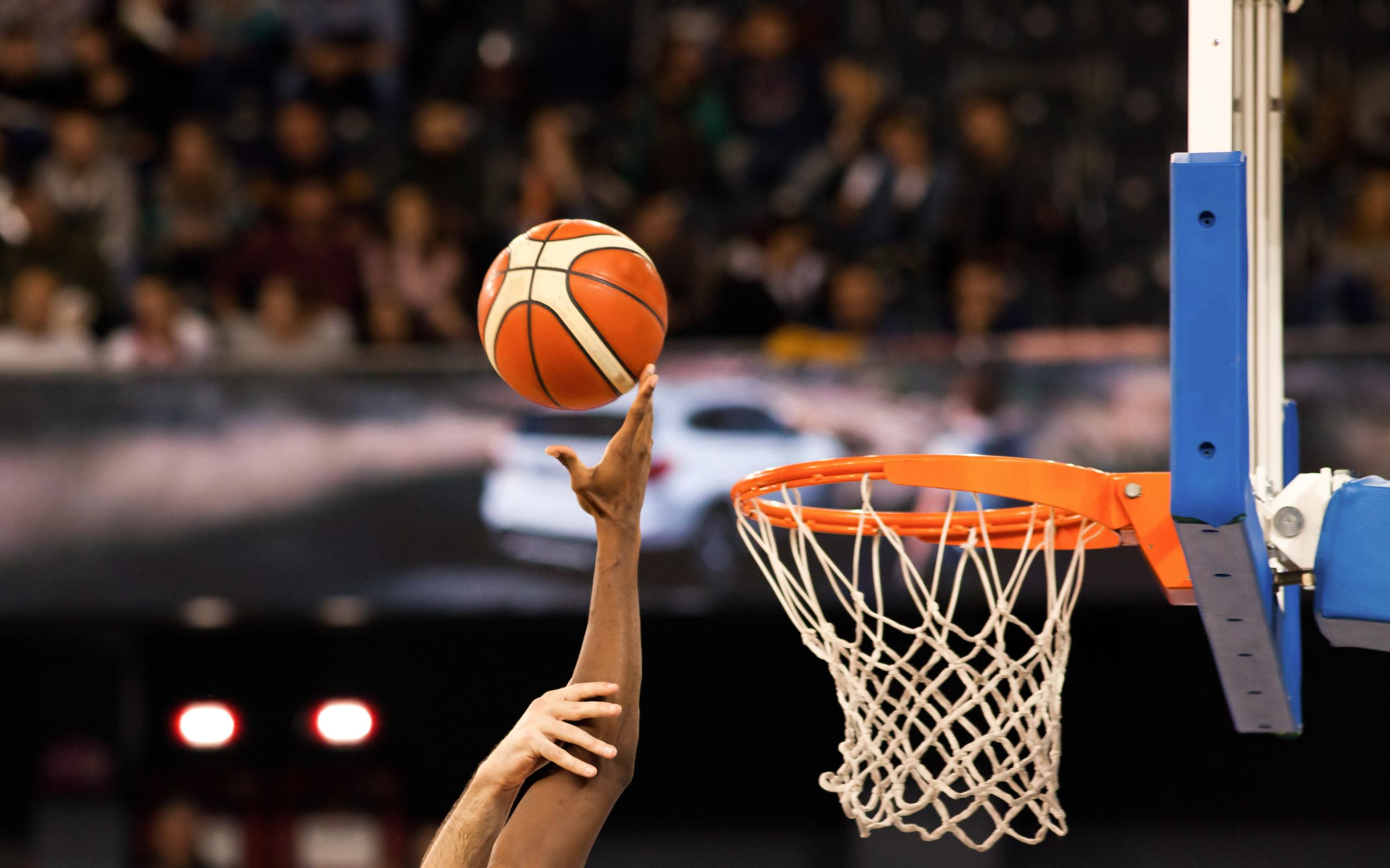 adobe stock basketball and hoop