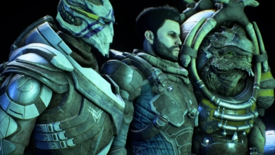 Photo of New Mass Effect Concept Art is Just Vague Enough to Make Me Speculate