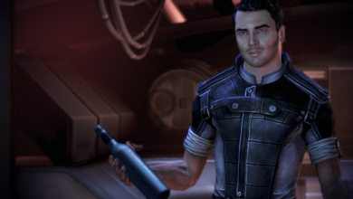 Photo of Join Me in Screaming About This Blurry Image of Mass Effect Remaster Art