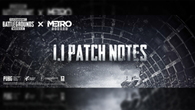 Photo of PUBG Mobile 1.1 Patch Notes – Release Date and How to Download