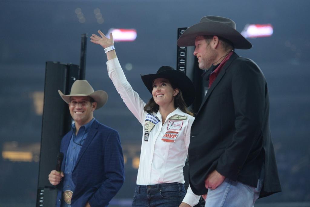 womens rodeo Hallie Hanssen Champ