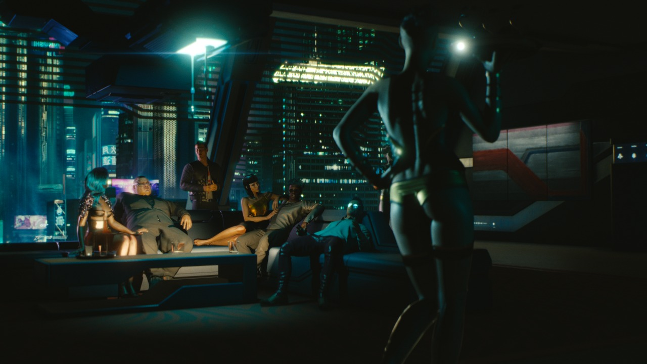 Cyberpunk 2077 Thermal Clues Security Sytems