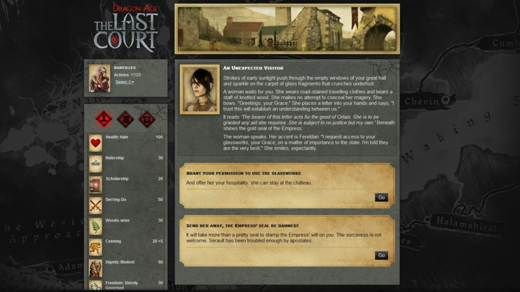 Dragon Age Last Court