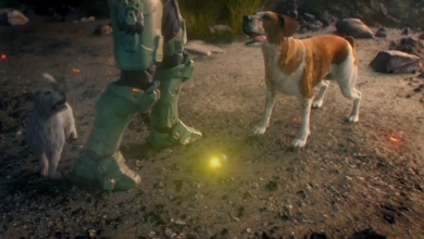 Photo of A Dog Murdered Master Chief in Microsoft's Holiday Ad