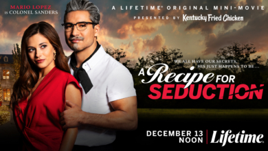 Photo of Mario Lopez as Colonel Sanders in Recipe for Seduction: A Review