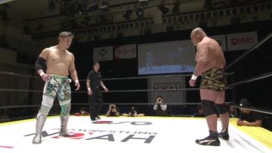 Photo of Pro Wrestling NOAH's Go Shiozaki vs. Kazuyuki Fujita Was the Match of the Pandemic