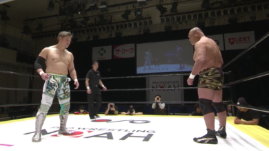 Photo of Pro Wrestling NOAH's Go Shiozaki vs. Kazuyuki Fujita Was the Match of the Pandemic