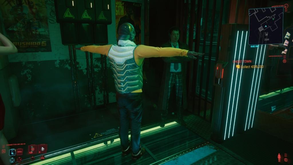 cyberpunk t pose