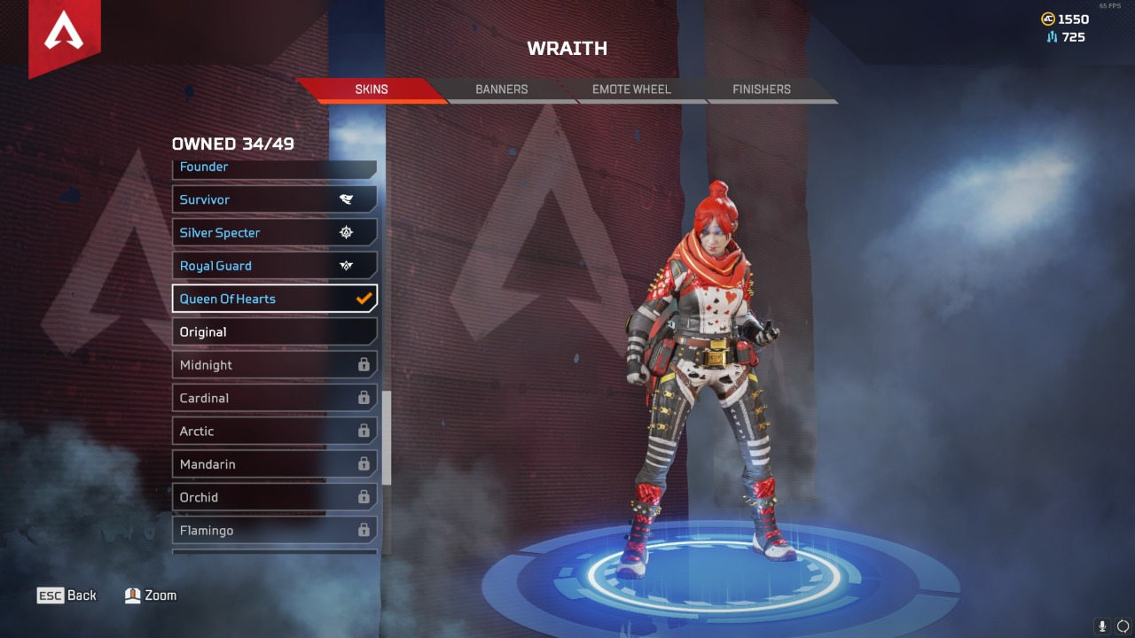 Apex Legends Queen of Hearts