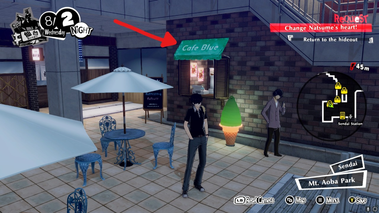 Persona 5 Strikers Recipe