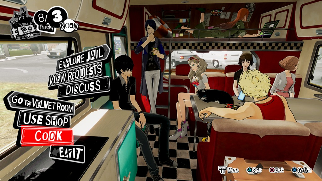 Persona 5 Strikers Play Persona 5
