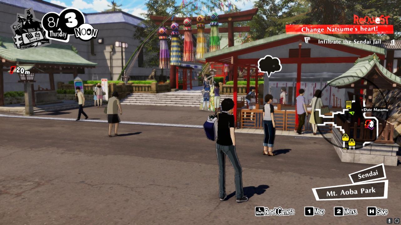 Persona 5 Strikers Zunda Supreme