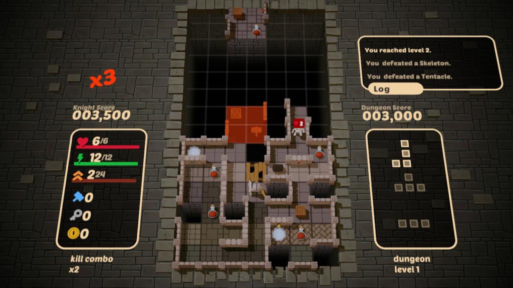 ulasan kotak-kotak dungeon