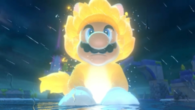 Photo of Bowser's Fury Makes Mario a Giant Super Saiyan Cat in an Open World
